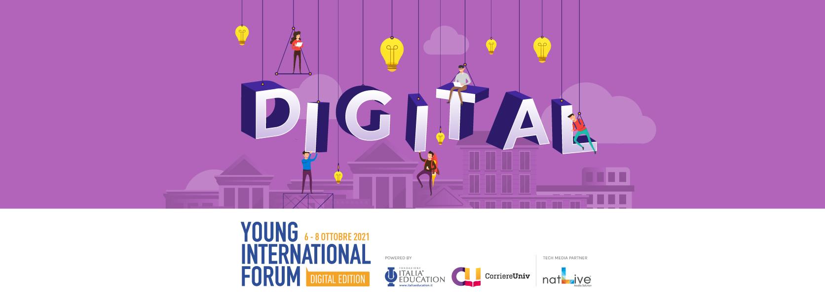 Dal 6 all'8 Ottobre anche l'IPSIA Frau allo Young International Forum